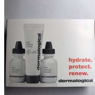 Dermalogica Hydrate, Protect, Renew Skin Set (3 items)