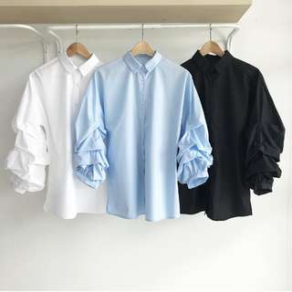 LOOKING FOR: Ruffles Sleeves Top