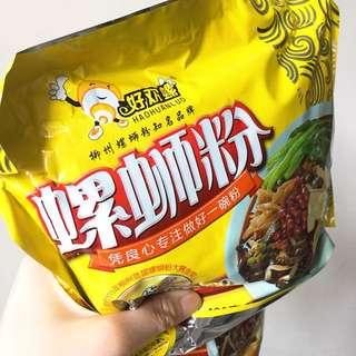$25  現貨 廣西柳洲著名特產好歡螺酸臭味夾攻螺絲粉