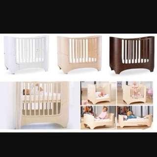 LEANDER Baby cot