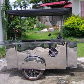 Food Cart Stainless Steel