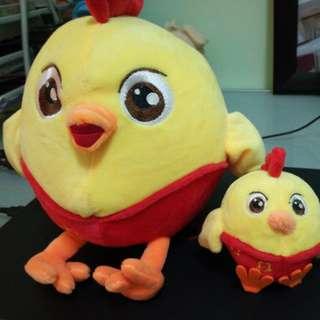 CNY chicken soft toy