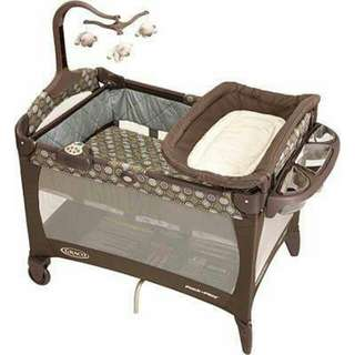 Playpen Graco playard bluegrass- Sale !