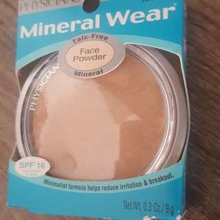 Physicians Formula Mineral Wear Talc Free Face Powder