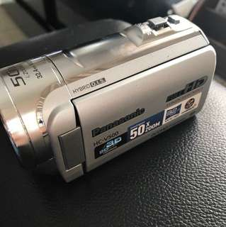 panasonic video camera (full HD)