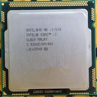 Intel Core i3 Processor i3-530 2.93GHz 4MB Cache LGA1156 SLBLR