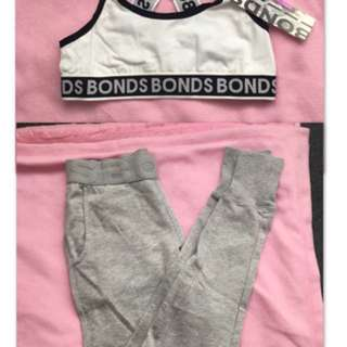 Bonds bralette and trackies