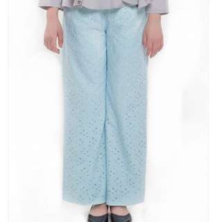 Just Rinaldi Lace Pants Pastel Blue