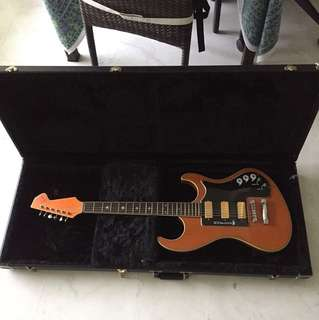[Price reduced only for today] Eastwood Wandre with Gibson Firebird Pickups