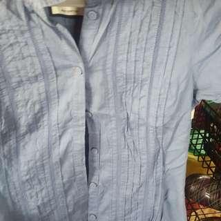 Esprit blue blouse