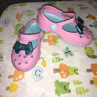 Authentic Crocs Bow
