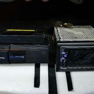 國際牌汽車音響主機(8片CD盒)