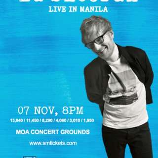 LOOKING FOR (2) ED SHEERAN PATRON A TICKETS