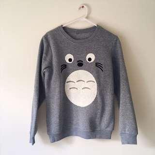 Cute Totoro Sweatshirt