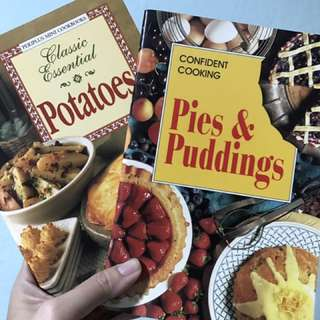Recipe Pies and puddings and potatoes. 2 recipes at $5 with normal postage