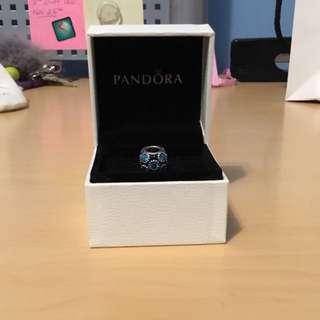 Pandora Studded Lights Teal Charm
