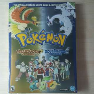Pokemon HeartGold SoulSilver Guidebook