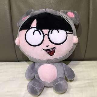Soft Anime Plush Toy (Medium Size)