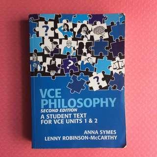 VCE Philosophy : Units 1&2