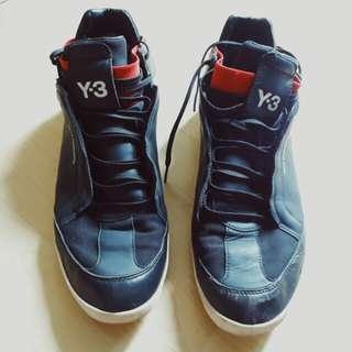 Y-3 Yohji Yamamoto x Adidas Kazuhiri High Sneakers
