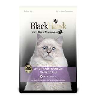BlackHawk 優質全貓 雞肉糙米配方 貓乾糧 1.5kg