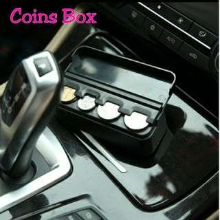 Coins Box Car Use Convenience