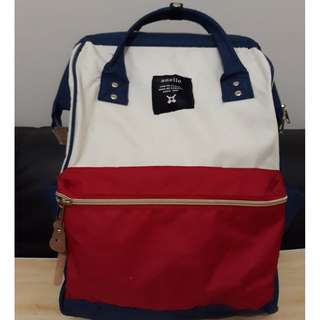 Anello Red, Blue, White Backpack, Class