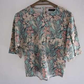 floral blouse (NO BARTER)