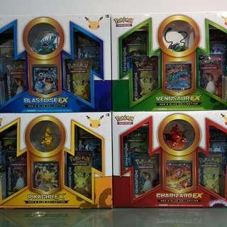 Pokemon 20th Anniversary Box Sets