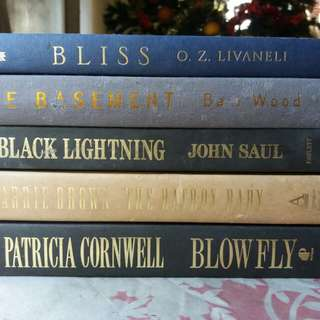 ASSORTED PRELOVED BOOKS