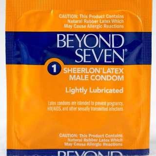 Beyond Seven Condoms by Okamoto .001 Ultra Thin 12pcs - 200pcs
