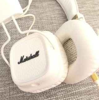 Marshall Major Headphones (White)