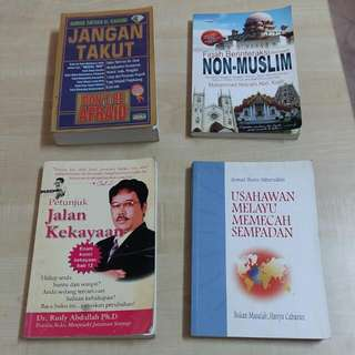 Assorted Malay Titles (Lot 1)