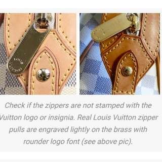 How to spot a FAKE Louis Vuitton (Part 2)