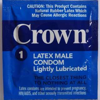 Crown Skinless Condoms by Okamoto .001 Ultra Thin 12pcs - 200pcs