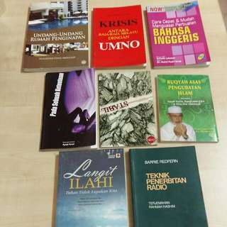 Assorted Malay Titles (Lot 3)