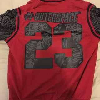 🚚 (便宜賣)Outerspace 棒球外套 L號