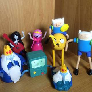Adventure time figures 8pcs