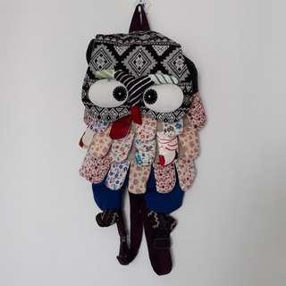 BN Patchwork backpack