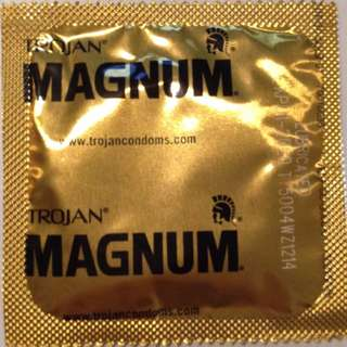 Trojan Magnum Large Condoms Made in USA 15pcs