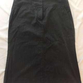 Theory Grey Skirt