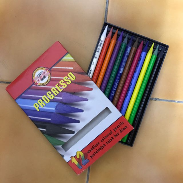 捷克12色色鉛筆