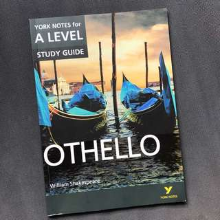 York Notes For A-Level Othello Study Guide