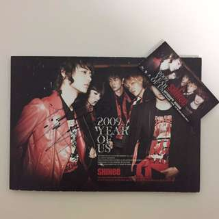 *SIGNED by Key* SHINee 2009 Year of Us Album