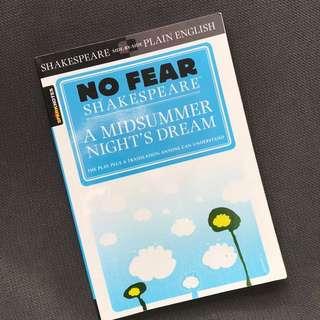 No Fear Shakespeare: A Midsummer Nights Dream