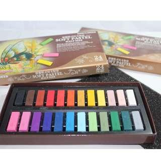 Soft pastels/chalk