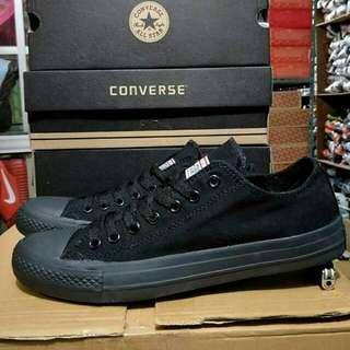 sepatu converse CT full black