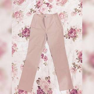 #take10off H&M Dusty Pink Suit Pants Ladies