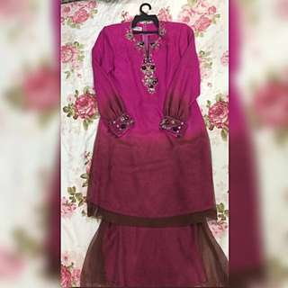 #take10off Baju Kurung Moden Kain Mermaid