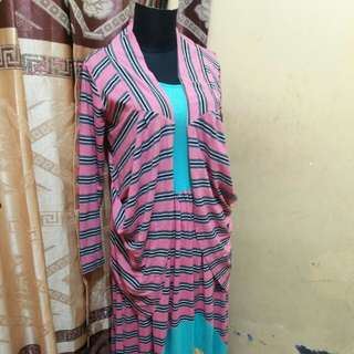 Dress include outer